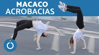 Como fazer o MACACO (capoeira) | Acrobacias