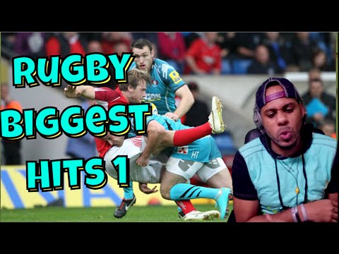 Rugby Biggest Hits 1 Reaction | I Would Never Play This