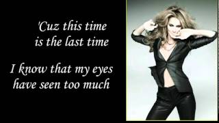 Celine Dion- This Time Lyrics