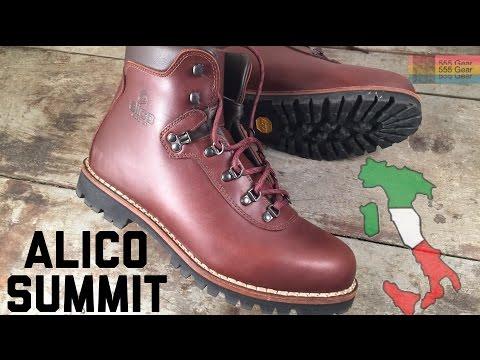 709157baec8 Alico Summit: Old School Italian Hiking Boots - 6