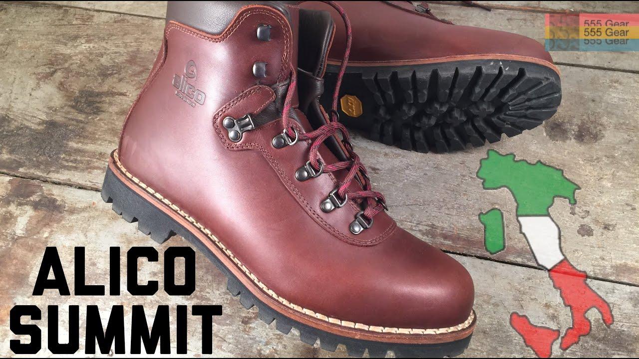 8bf329f7d5c Alico Summit: Old School Italian Hiking Boots - 6