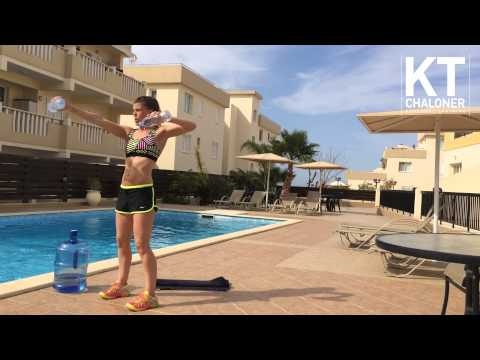 5 Minute Poolside Workout 5