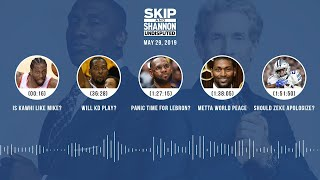 UNDISPUTED Audio Podcast (5.29.19) with Skip Bayless, Shannon Sharpe & Jenny Taft | UNDISPUTED