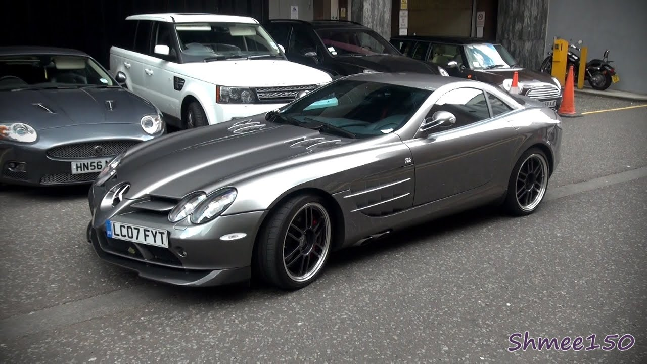 Mclaren Mercedes Slr 722 Spotted In London Youtube