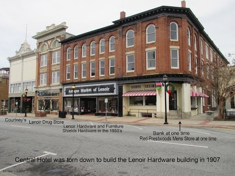 Lenoir Hardware and Furniture Company part 1 of 3, Lenoir N.C.