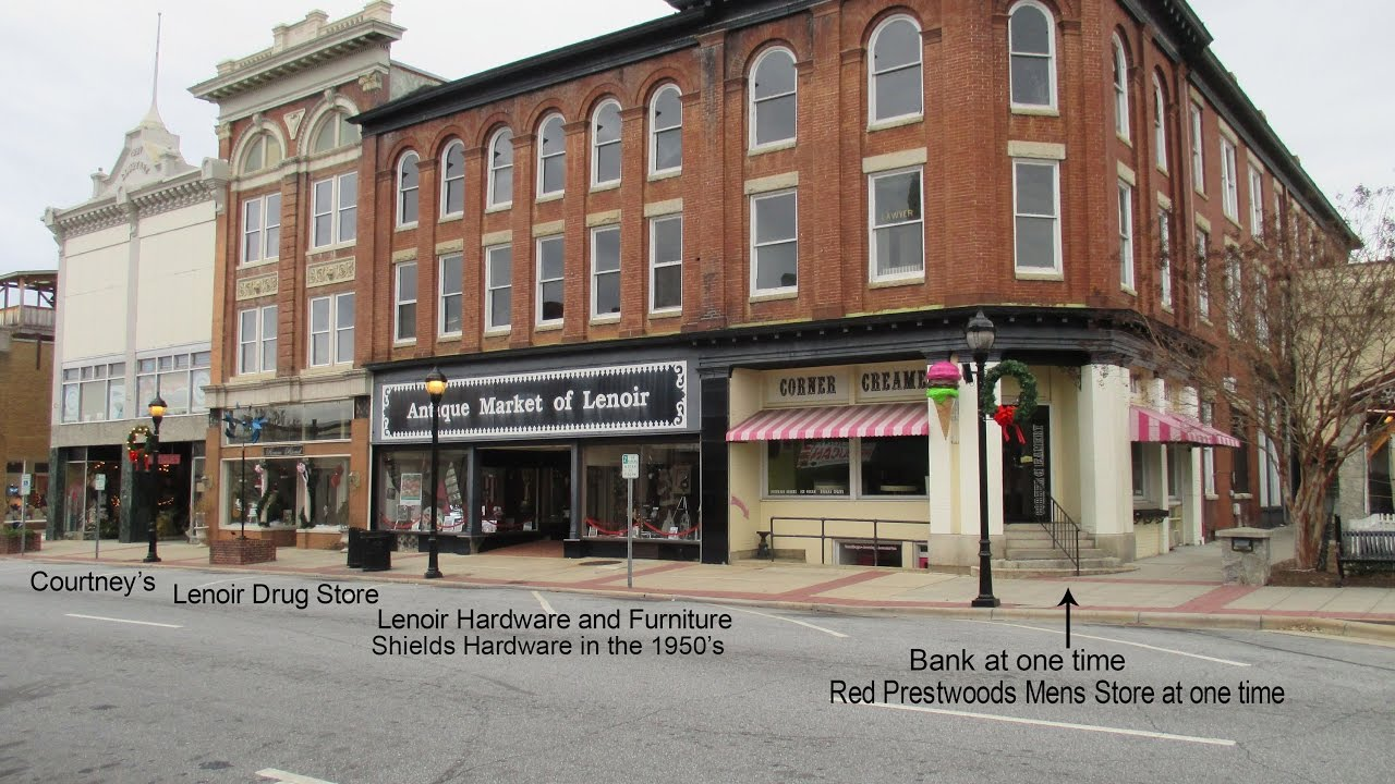 Lenoir Hardware And Furniture Company Part 1 Of 3, Lenoir N.C.