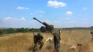 Артиллерия ДНР и ЛНР работает по нацгвардии АТО