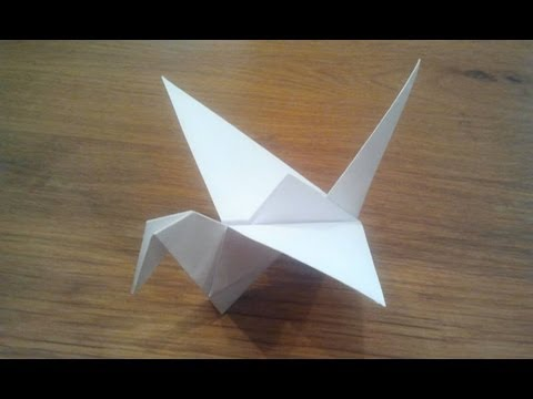 Thumbnail: How To Make an Origami Flapping Bird
