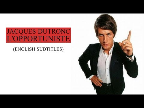 Jacques Dutronc -  L'opportuniste (english subtitles) - 1968