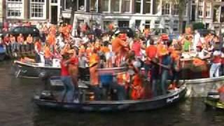 Urodziny Królowej w Amsterdamie Holandia