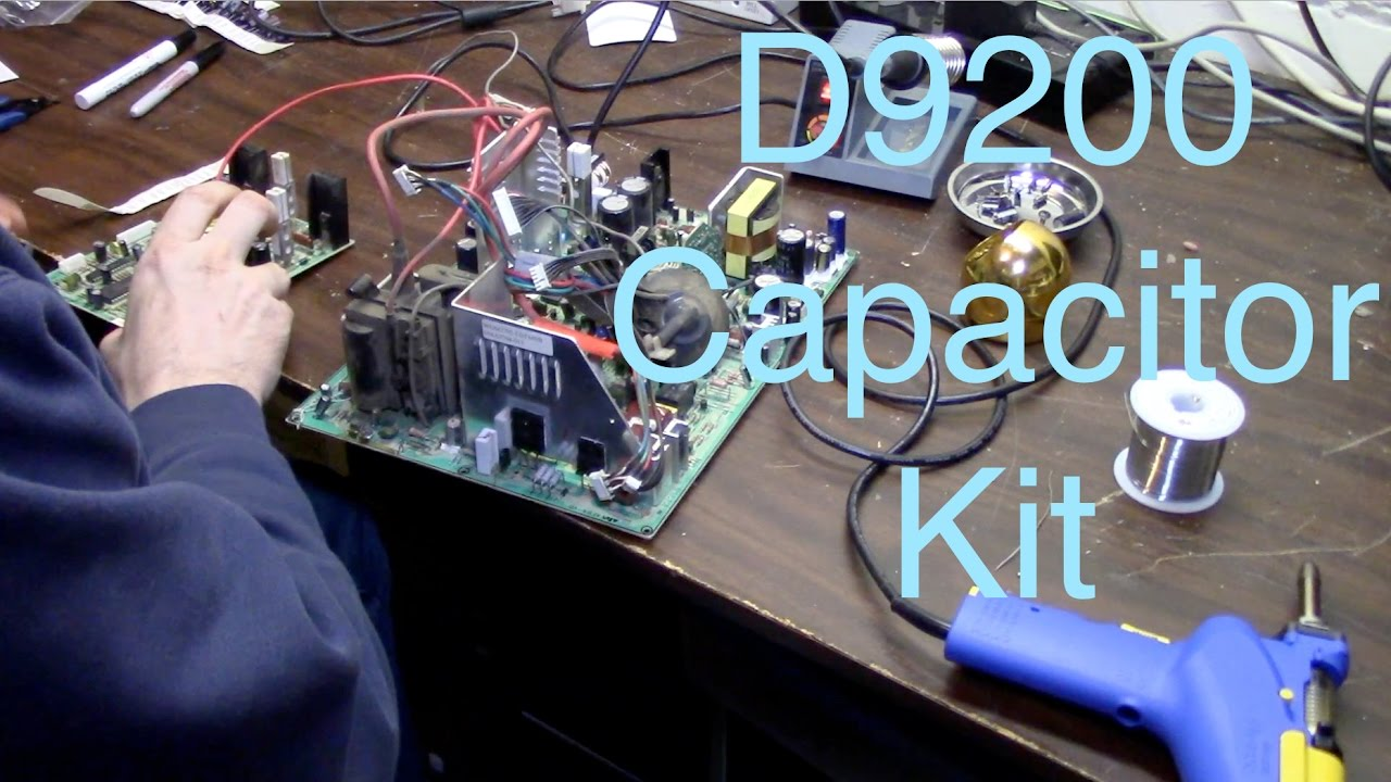D9200 Cap Kit  AKA The WG from hell