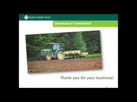 Farm Credit East Financial Results & Agriculture Outlook