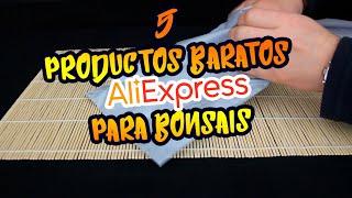 PRODUCTOS DE ALIEXPRESS PARA BONSAIS | Unboxing y review