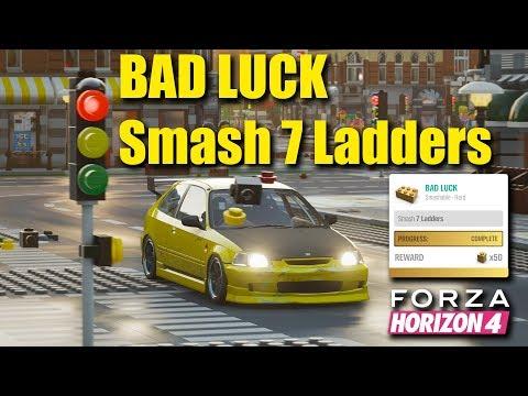 Forza Horizon 4 Lego Bad Luck (Smash 7 Ladders challenge