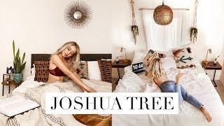 My Us Visa Announcement & Joshua Tree Home Tour 🌵 Vlog #11