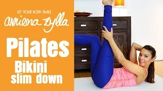 Pilates Workout -  Bikini Body Slim Down @Home mit Amiena Zylla
