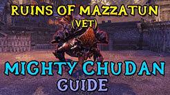 Veteran Ruins of Mazzatun Boss Guide - Mighty Chudan | 1st Boss (ESO Shadows of the Hist)