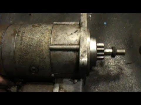 Стартер ВАЗ 2108-09... не редукторный ремонт.замена бендикса