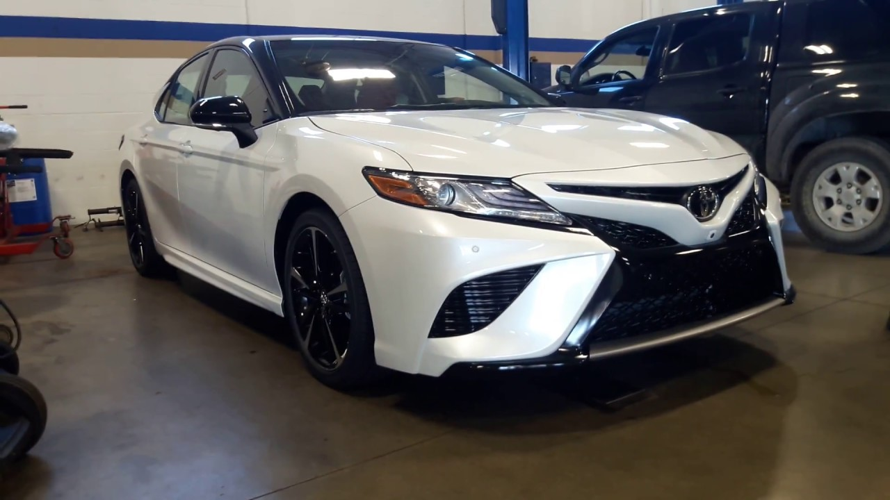 First 2018 toyota camry xse with red interior youtube for 2018 toyota camry xse red interior