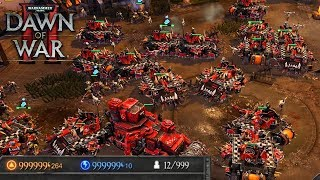 Dawn of War 2 Infinite Units Spam Dawn of War 2 Retribution Pop Cap