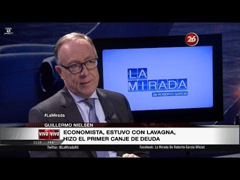 """Guillermo Nielsen en """"La mirada"""" de Roberto García - 20/11/17"""