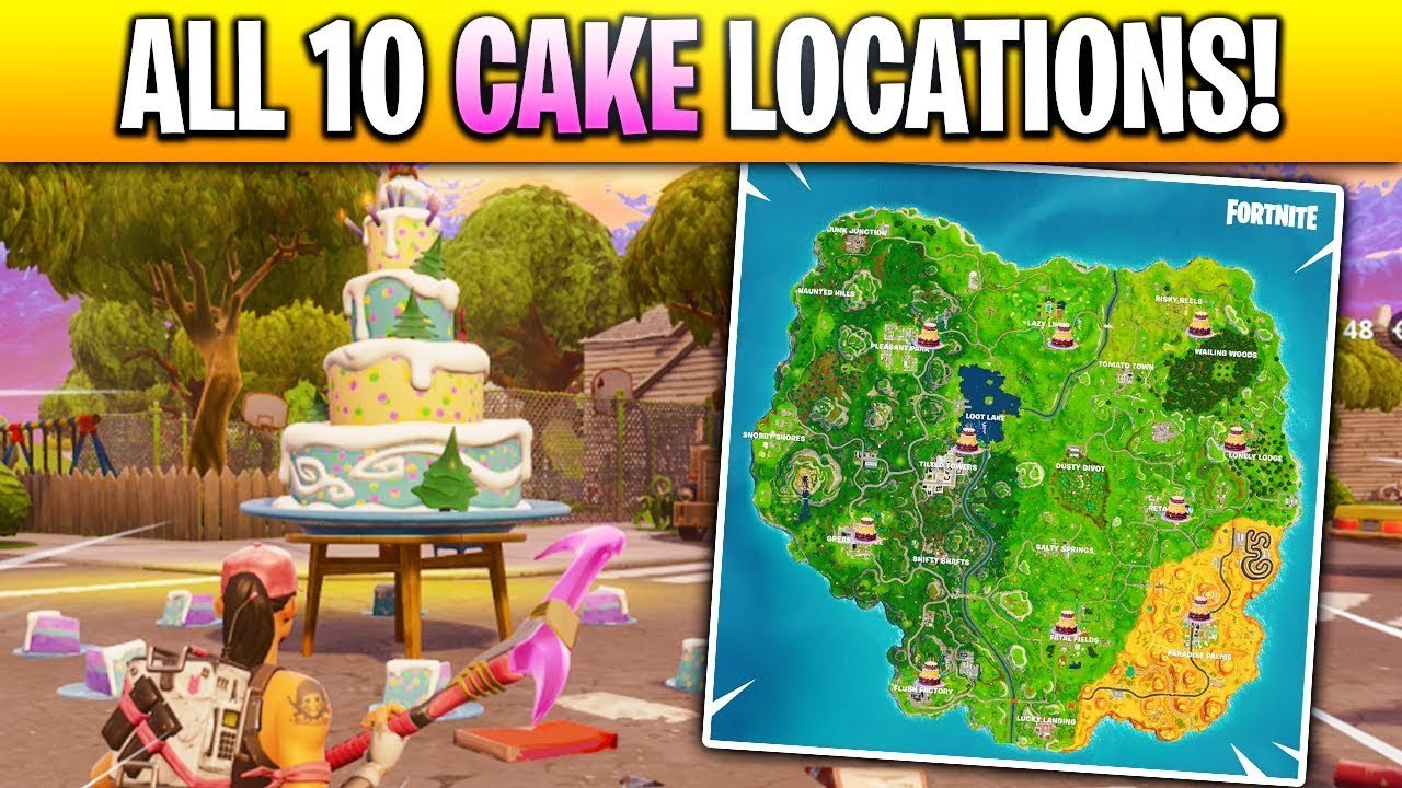 """Dance in Front of different Birthday Cakes"" LOCATIONS in ..."