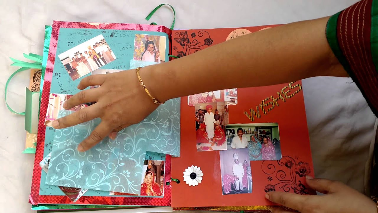 Best Scrapbook For Mom & Dad For Anniversary Birthday