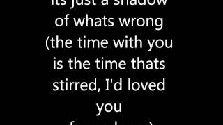 The All-American Rejects - Time Stands Still lyrics