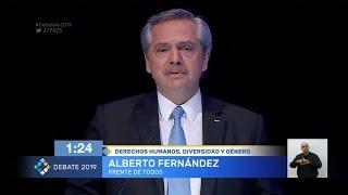 Fernández: Vamos a crear el ministerio de la Mujer, la Igualdad y la Diversidad