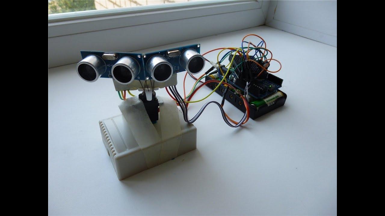 Arduino motion following hc sr ultrasonic youtube