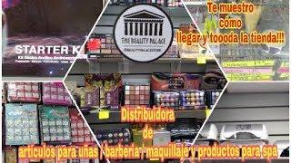 Distribuidora de artículos para uñas,barbería , cosméticos y más te enseño como llegar!