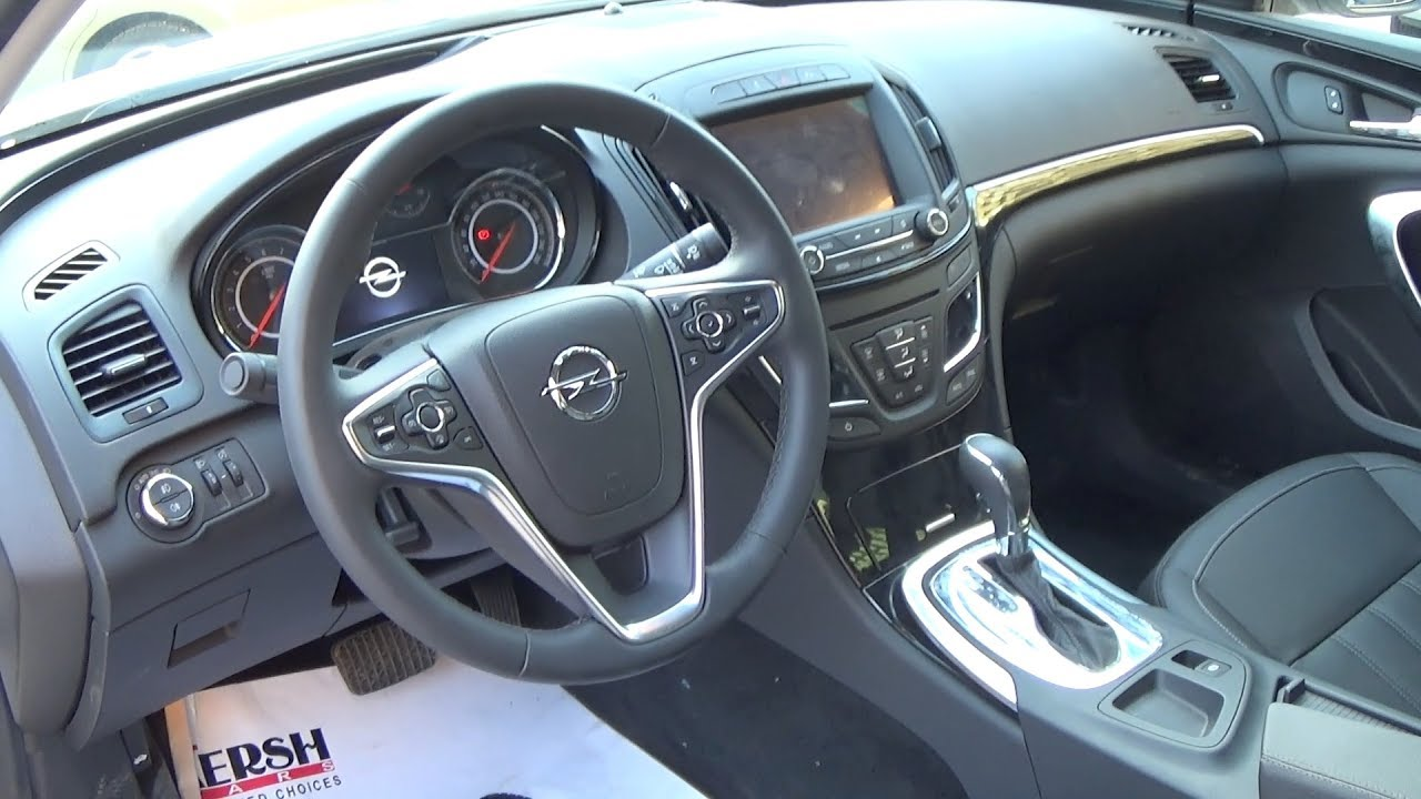 Opel insignia 2017 for Interior opel astra 2017