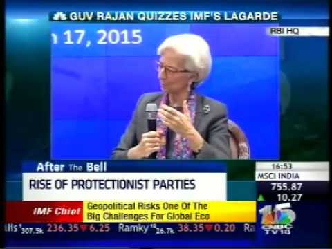 Visit to Reserve Bank of India - IMF Chief Christiane Lagarde