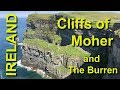 Cliffs of Moher and The Burren, Ireland