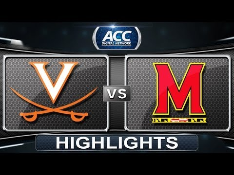 Virginia vs Maryland | 2014 ACC Lacrosse Highlights