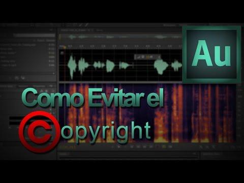 Como evitar el Copyright en el Audio de tus Vídeos