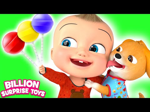 Puppy & Babies Song - Simple Animation for kids