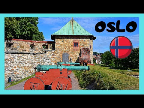 OSLO, the historic and medieval AKERSHUS FORTRESS, NORWAY