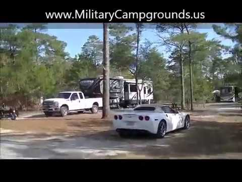 Video Tour of Camp Robbins FamCamp at Eglin AFB, FL