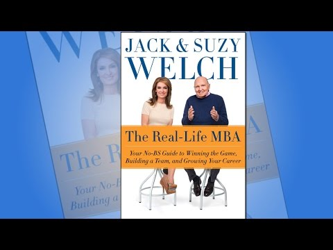 Jack and Suzy Welch Talk Business Skills in 'Real-Life MBA ...