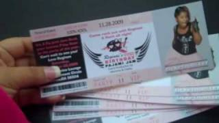 Concert Style Tickets
