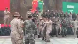 """بالفيديو والصور..القوات الخاصة السعودية تختتم تمرين """"تعايش"""" في الصين"""