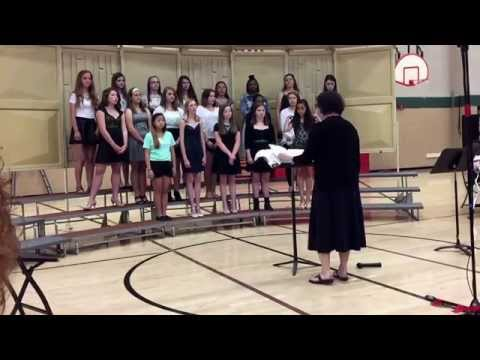 Hallelujah    Savanna Oaks Middle School Eighth grade girls choir 2014-2015