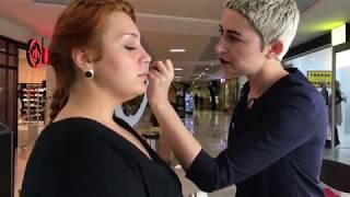Урок макияж от JUST Tomsk для Елизаветы Соколовой
