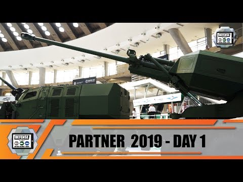 Partner 2019 International fair of armament and defense equipment exhibition Belgrade Serbia Day 1
