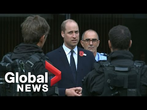 Prince William meets with first responders involved in Christchurch mosque shootings
