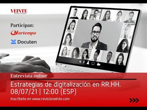 VEINTE - Estrategias de Digitalización en RRHH con Juan Carlos Suárez y Daniel Cerqueiro