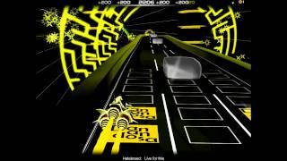 Hatebreed - Live for this [Audiosurf Ninja Mono Elite Ironmode Stealth + Lyrics]