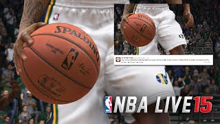 NBA Live 15 SUPERFAST GAME UPDATES! NEW SCREENSHOT!