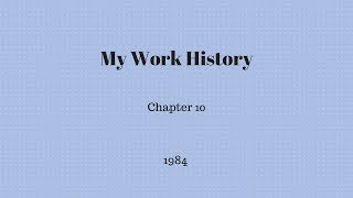 Gambar cover My Work History - Chapter 10